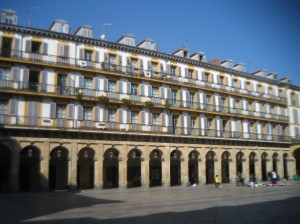 Plaza Mayor in San Sebastian