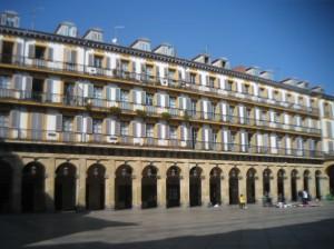Plaza Mayor in San Sebastian