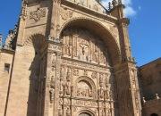 church of San Esteban in Salamanca