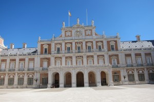 the palace in Aranjuez
